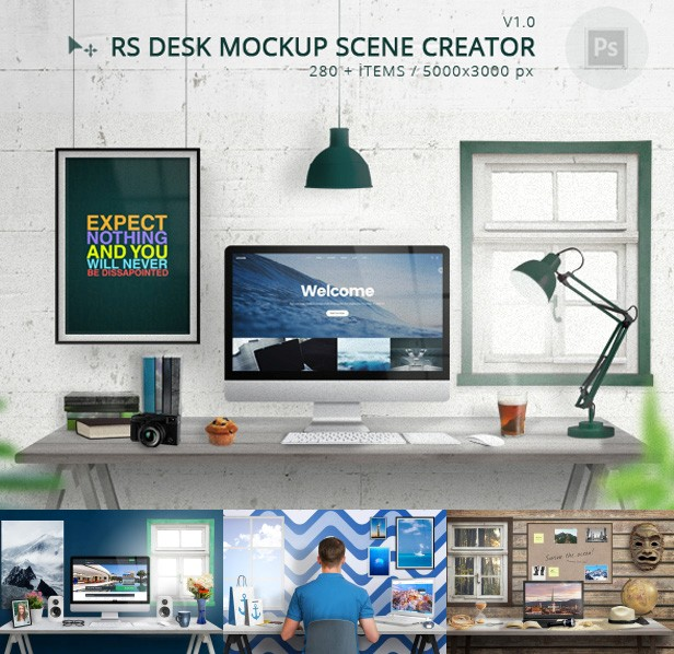 Master Mock-Up Creator (Hero Images)